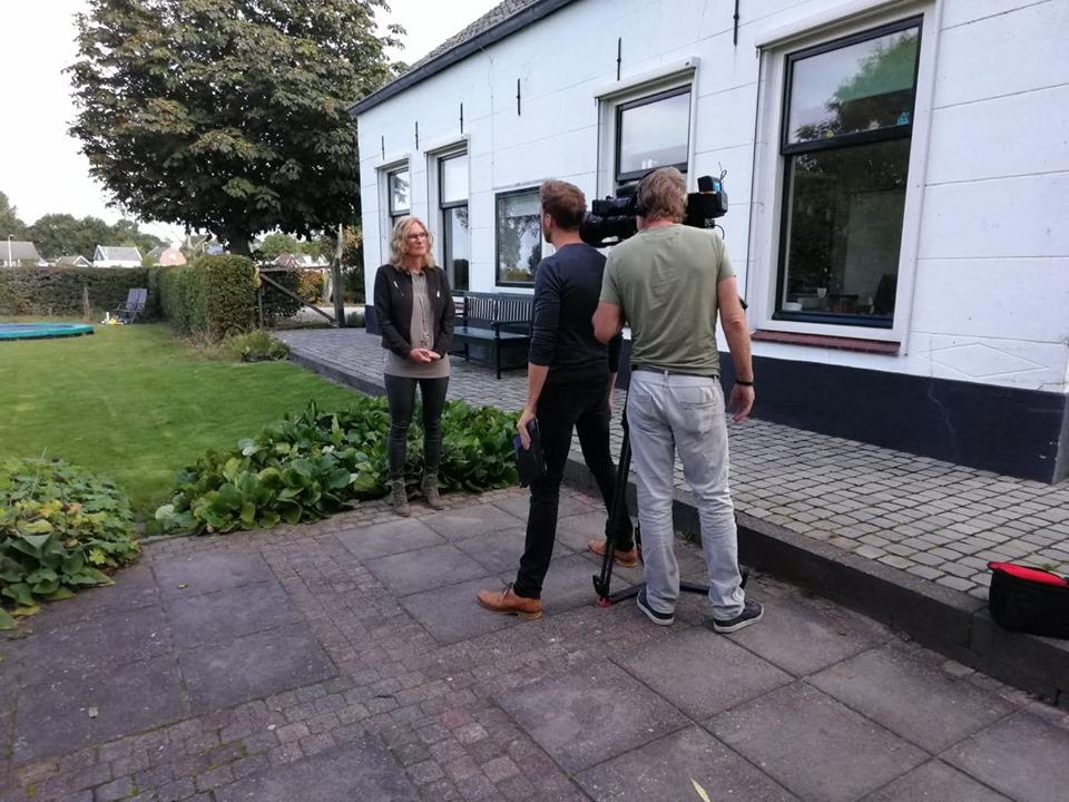 Holland van Boven t.v. opnames !